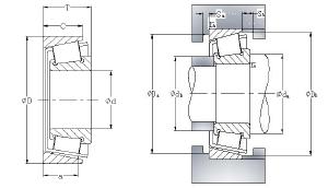 Single Row Tapered Roller Bearings